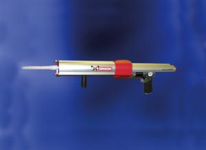 Pistol pneumatic adezivi si etansanti bicomponenti